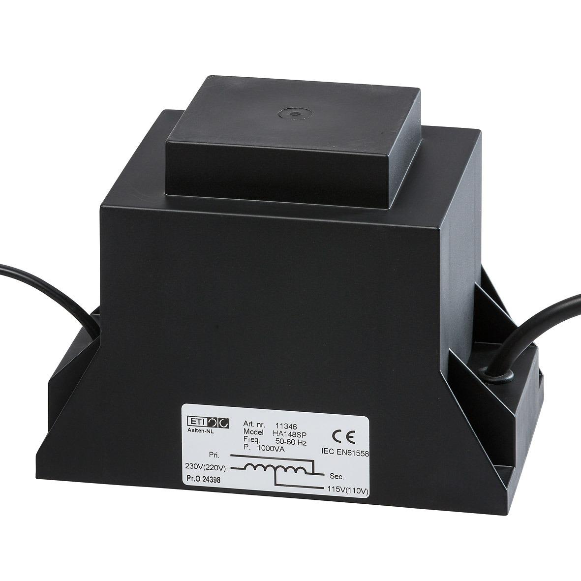 11346 - 220…230/110…115V-1000VA HA148SP